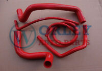 FOR HOLDEN COMMODORE VZ STATESMAN 5.7L 6.0L HSV V8 SILICONE RADIATOR RED HOSE