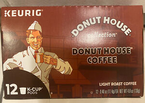 Donut House Collection Donut House Light Roast Coffee 12 K Cups BB 7/1/2021