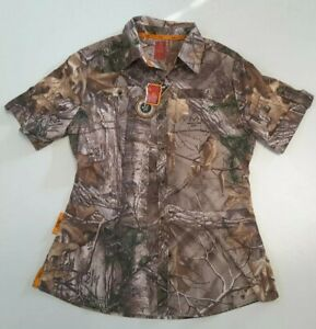 She Outdoor Women's Realtree Xtra Camoflauge Shirt Size S