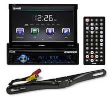 "SSL SD726MB Single-Din 7"" In-Dash DVD Receiver w/Bluetooth USB/SD/AUX + Camera"
