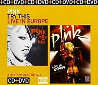 Try This/P!Nk:Live in Europe von P!Nk | CD | Zustand sehr gut