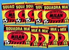 MILAN NELLA STORIA - SQUADRA MIA MASTER 1991 - LOTTO DI 10 BUSTINE CHIUSE