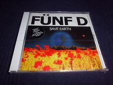 FÜNF D Save Earth Hip Hop CD 10 Tracks NEU+foliert!!!