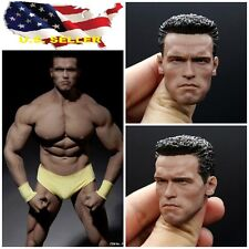 1/6 Arnold Alois Schwarzenegger head 2.0 for Terminator T800 Phicen M34 hot toys
