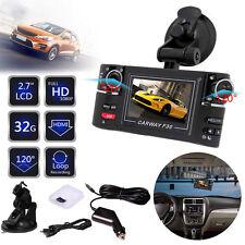 "2.7"" LCD Dispaly Dual Lens Car DVR Camera Digital Videos Recorder Dash Cam 1080P"