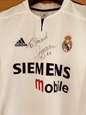 More details for signed david beckham real madrid shirt