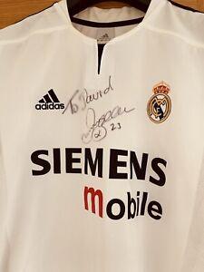 Signed David Beckham Real Madrid Shirt