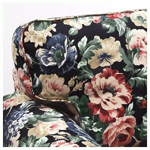 🌸Ikea EKTORP Armchair Cover Only LINGBO Multicolor Floral  204.028.93🌸Last One
