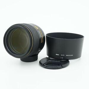 Nikon AF-S NIKKOR 105mm F/1.4E ED N SWM IF Lens