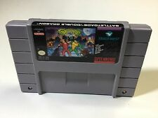 Battletoads Double Dragon Snes Super Nintendo Cleaned Tested working NICE