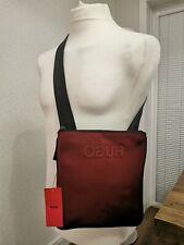 💯 Genuine Hugo Hugo Boss Record S Zip Messenger Crossbody man Bag New Tags 🎁