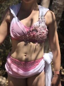 Girls lyrical dance costume