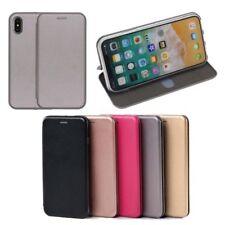 Fundas y carcasas brillantes Para iPhone X de piel sintética para teléfonos móviles y PDAs