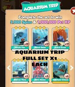 Aquarium Trip Full Set :- Coin Master(Fastest Delivery)