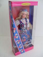 barbie norwegian dolls of the world norvegia norvegese collector 1995 dotw 14450