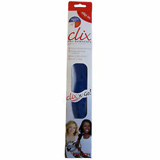 Hair Extension Clip In One Piece Clix Micro Sapphire Blue Beauty Trendy 16""