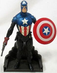 "Diamond DST Marvel Select Bucky Barnes Captain America 7"" Figure & Parts"