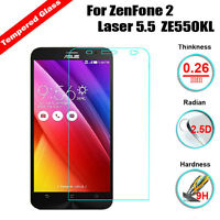 "Premium Tempered Glass LCD Screen Protector Film for Asus Zenfone 2 Laser 5"" 5.5"