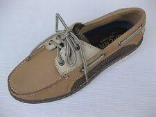 Sperry Topsider Mens Shoes NEW $110 Billfish Ultralite 3 Eye Linen Tan Boat 9 M