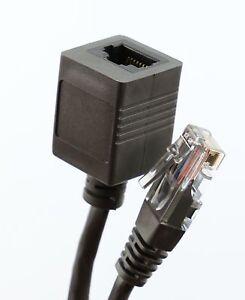 INTERNET EXTENSION LEAD CAT6 RJ45 ETHERNET Network Extender Cable .5m to 10m LOT