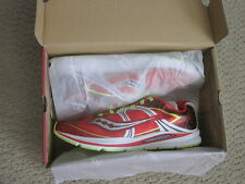 NEW SAUCONY FASTWITCH RUNNING SHOES RED/WHITE/CITRON SIZE 12.5 MEDIUM