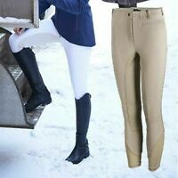 Noble Horse Riding Signature Show Breeches Ladies Full Seat White & Beige -cheap