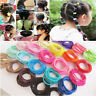100Pcs Lot Kids Girls Elastic Rope Hair Ties Ponytail Holder Head Band Hairband