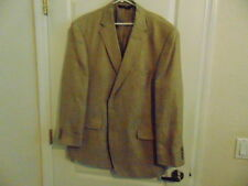 NWT's Men's Jos. A. Bank Tailored Fit Two Button Tan Linen/Silk Sport Jacket-50R