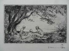 Engraving Art Nouveau Original Art Prints