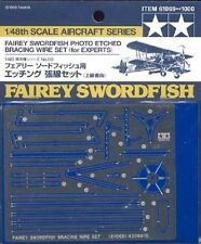 Tamiya 61069 x 1/48 Fairey Swordfish PE Bracing Wire Set