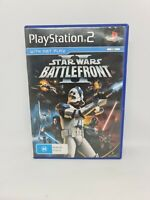 STAR WARS: BATTLEFRONT PlayStation 2 PS2  PAL Game Free Tracked Shipping