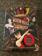 Moulin Rouge (DVD, 2001, 2-Disc Set, Two Discs English/Spanish Versions) NEW