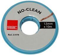 Plaque Planche Feuille en cuivre pour Circuit imprim/é 100//75//1.5mm 70/µm r/ésine epoxy Fibre de Verre C40704 AERZETIX