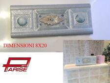 Listello fascia decoro ceramica piastrella bicottura riverstimento 8x20 1 scelta