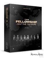 IN STOCK! [ATEEZ] WORLD TOUR THE FELLOWSHIP : MAP THE TREASURE SEOUL DVD FREEBIE