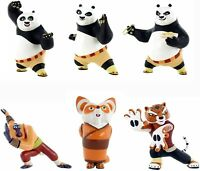 Bullyland Comansi Official Kung Fu Panda Toy Figure Cake Topper Toppers