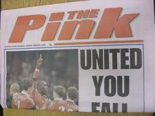 05/02/2000 Coventry Evening Telegraph The Pink: Main Headline Reads: United You