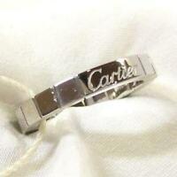 Cartier Lanier K18WG (white gold) ring 51 (No. 11)