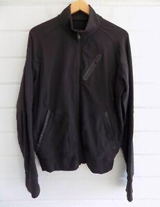 LULULEMON Men's Full Zip 3 Pocket Performance Jacket Black - L