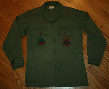 Tactical Air Command Red Horse Civil Engineering US Air Force Shirt Men 15.5x33
