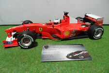 F1 FERRARI F2000 #4 R. BARRICHELLO 1/18 d HOT WHEELS formule 1 voiture miniature