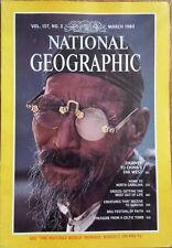 National Geographic magazine March 1980 China, North Carolina, Greece, Bali