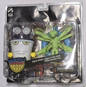 Palisades Adult Swim Aqua Teen Hunger Force figures MASTER SHAKE MOTHMONSTERMAN