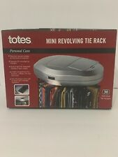Totes Mini Revolving Tie Rack Nice 30 Individual Tie Hangers Business Formal