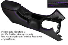 PURPLE STITCH CENTRE CONSOLE COVER + ARMREST COVER FITS FORD MUSTANG 94-98