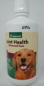 NaturVet Joint Health Advanced Care - Level 3 - 32 Oz. Exp 2022+ #4609
