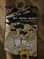 HOT WATER MUSIC PROMO POSTER THE NEW WHAT NEXT 13 X 18 VG CONDITION
