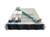 X10DRi-LN4+ 12 Bay 2x E5-2640 v3 16-Cores UNRAID 12GB/s SAS3 Server 32GB