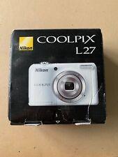 Nikon Coolpix L27 Digital Camera 16.1 Megapixels Boxed