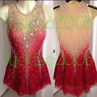 new style Figure skating Ice Skating Dress Gymnastics Dance Dress 80036